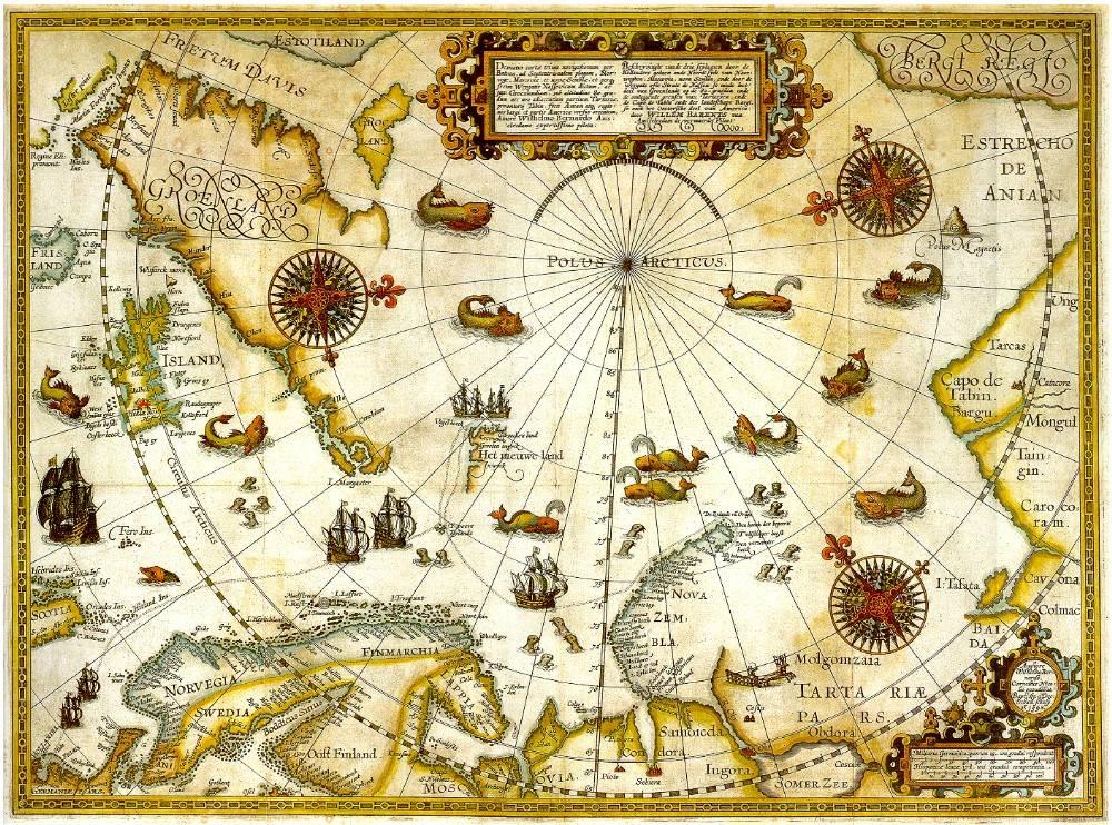 Barentsz-kartet fra 1598