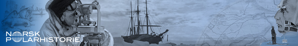Banner forside, Norsk Polarhistorie